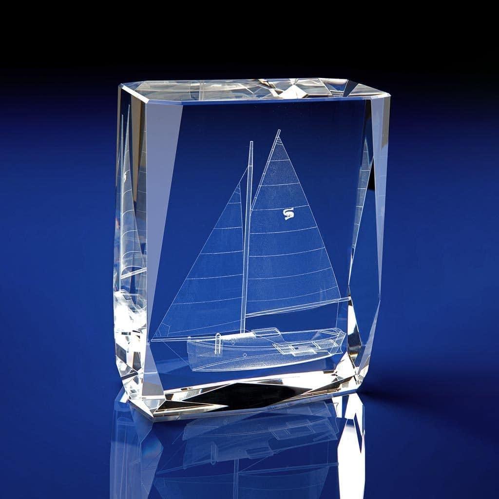 Chamonix Boat Crystal Award