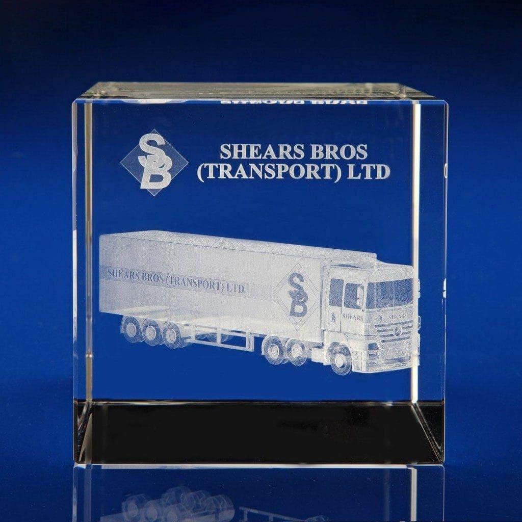 Cube Award - 3D truck