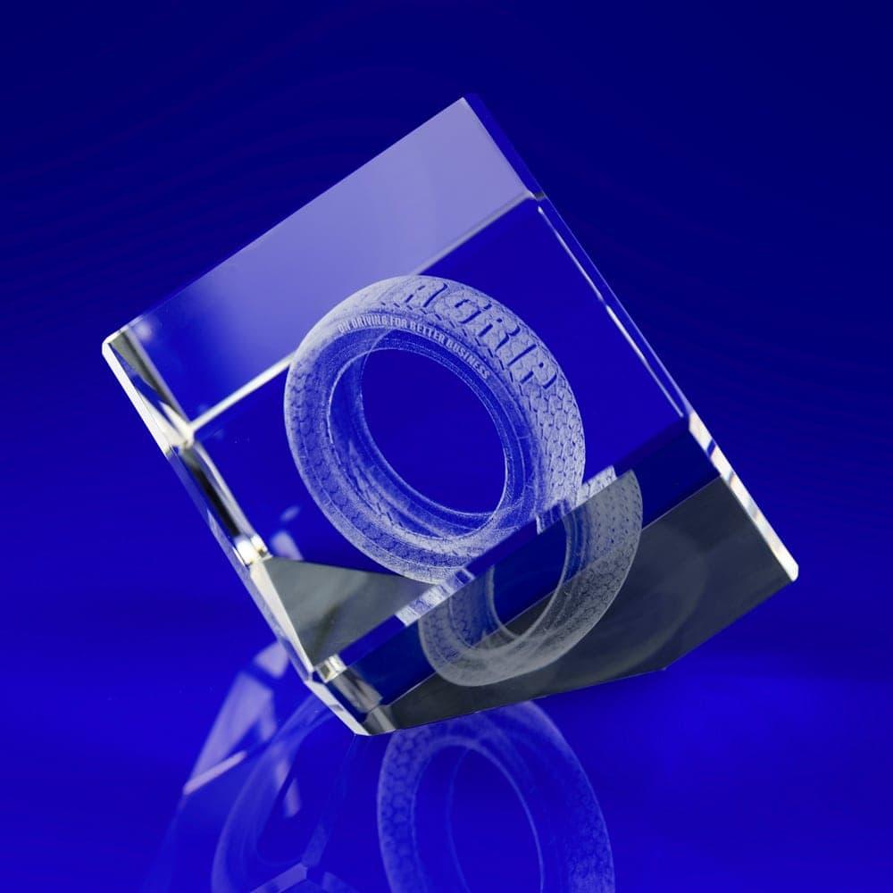 Bespoke crystal paperweights