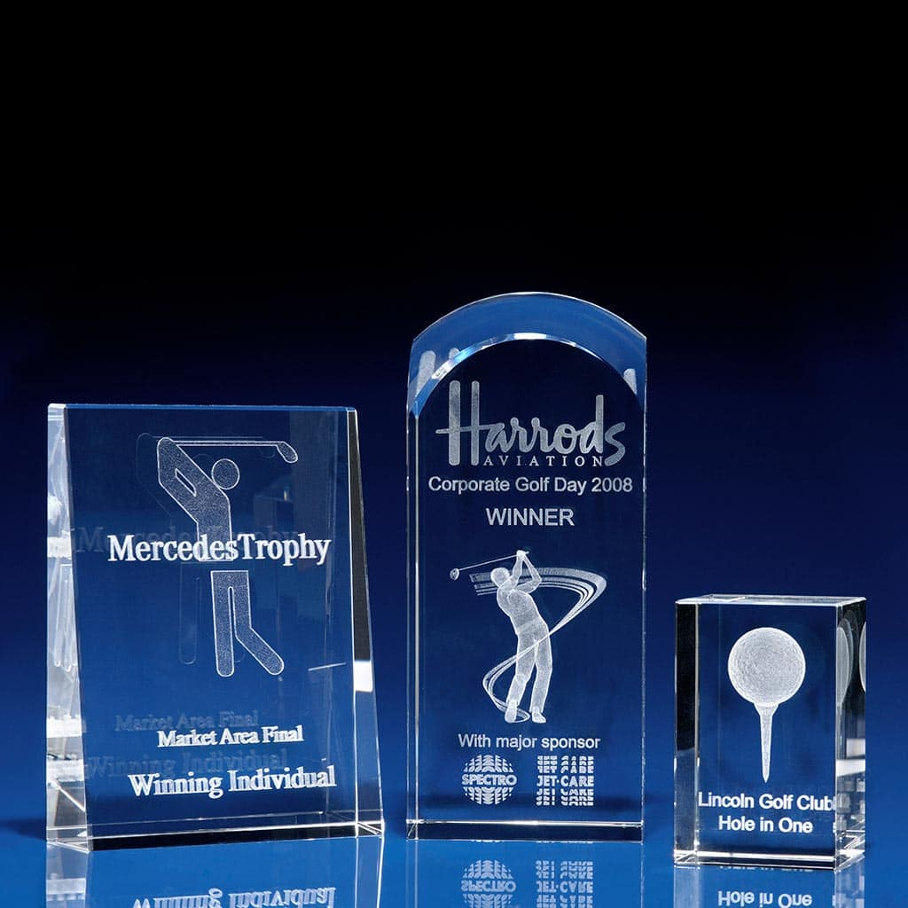 Golf Trophies and Awards