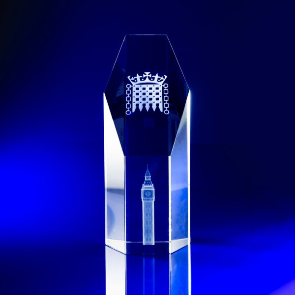 Bespoke glass awards