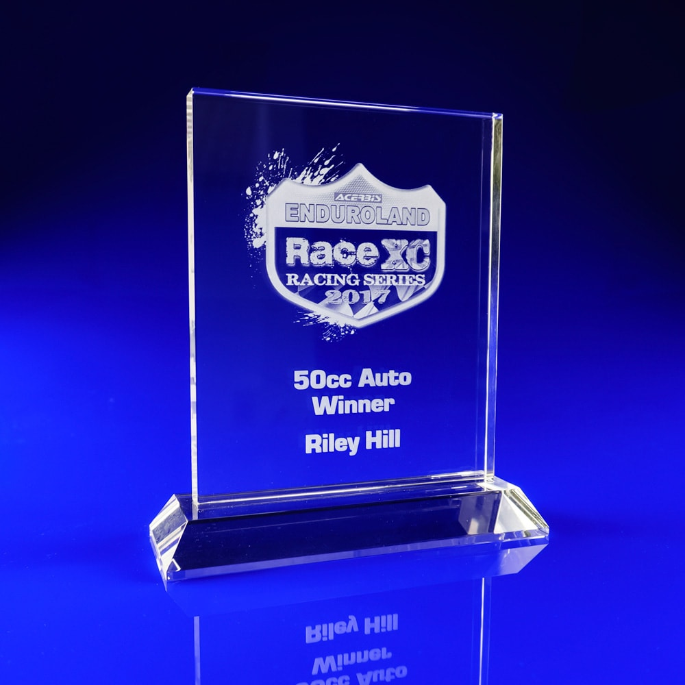 Ice Clear Crystal Award