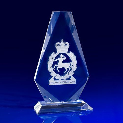 Iceberg Award Crystal Glass