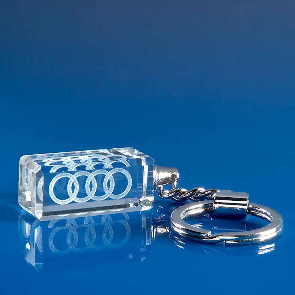 3D laser engraved Keyrings