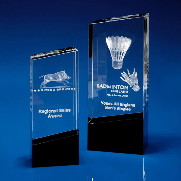 Monochrome, Crystal Glass, Glass Awards, 3D crystal art, 3D glass art,, glass trophies, glass trophy award, glass awards, glass plaque, crystal awards, engraved awards