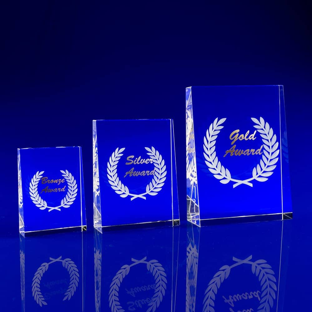 Personalised Glass Trophies