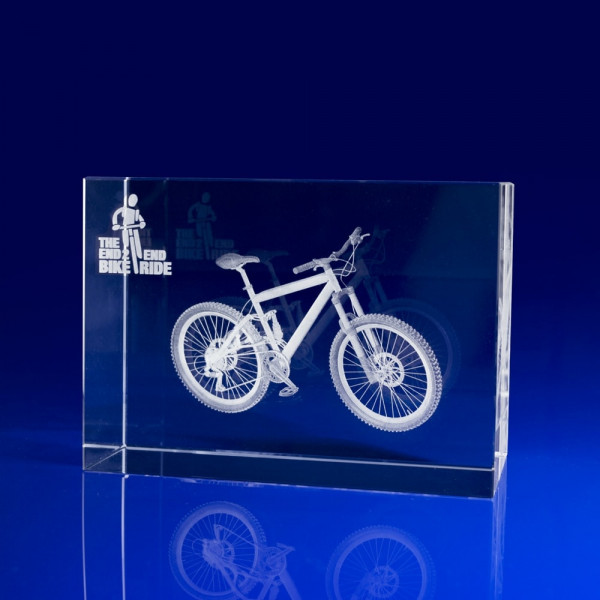 Cycling Glass Trophy