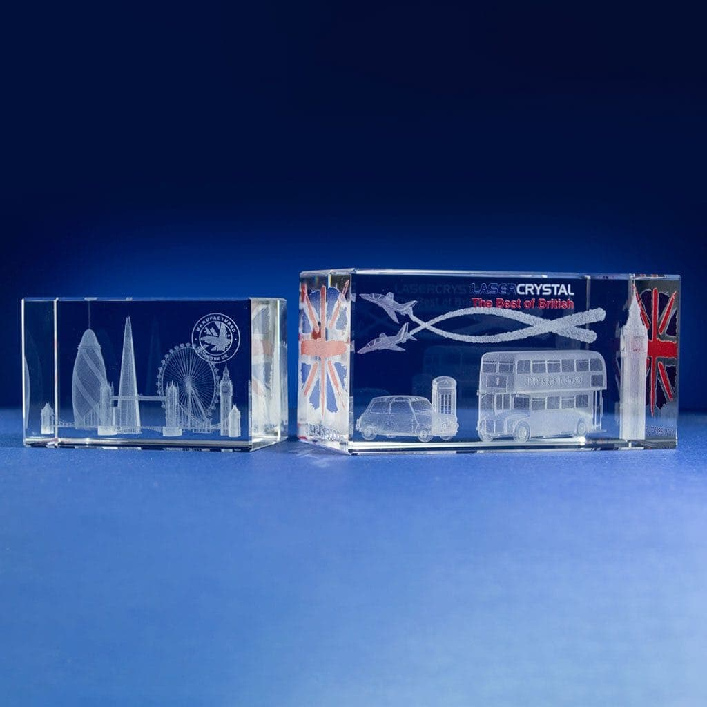 Rectangle Awards with digital print