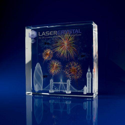 Square Crystal Fireworks