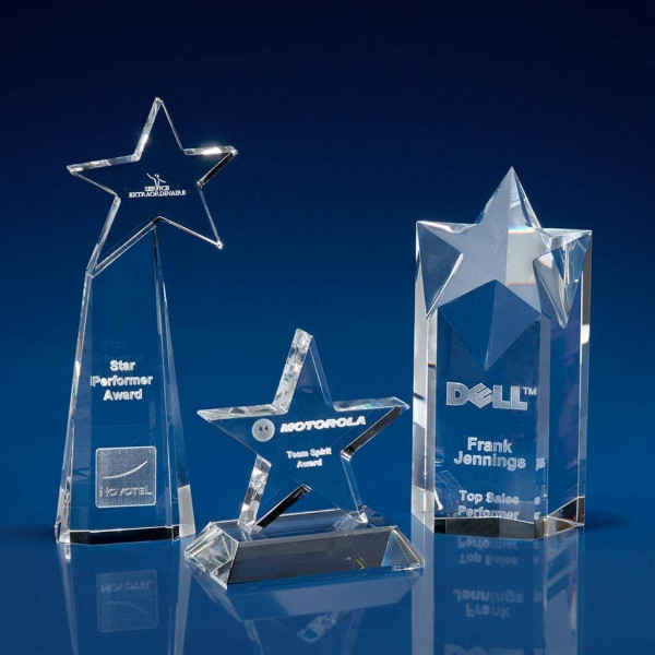 Crystal Star Awards & Trophies
