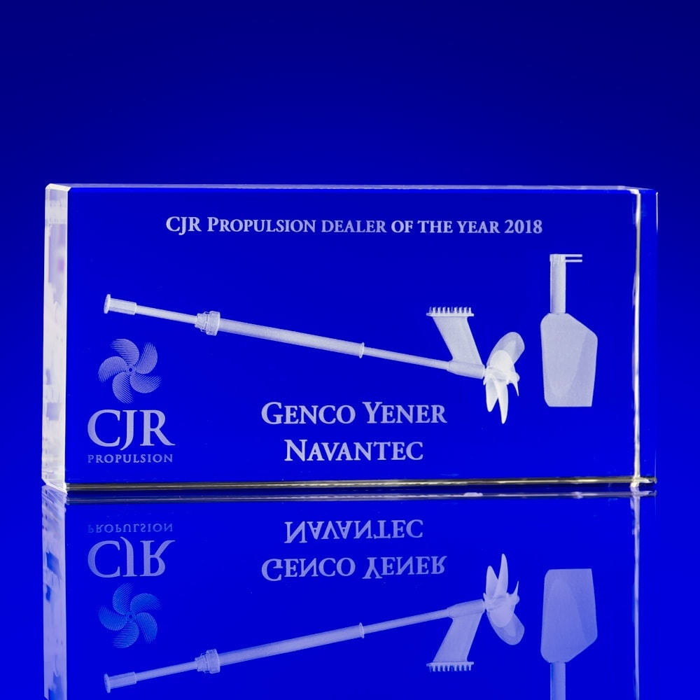 Bespoke Crystal Business Awards