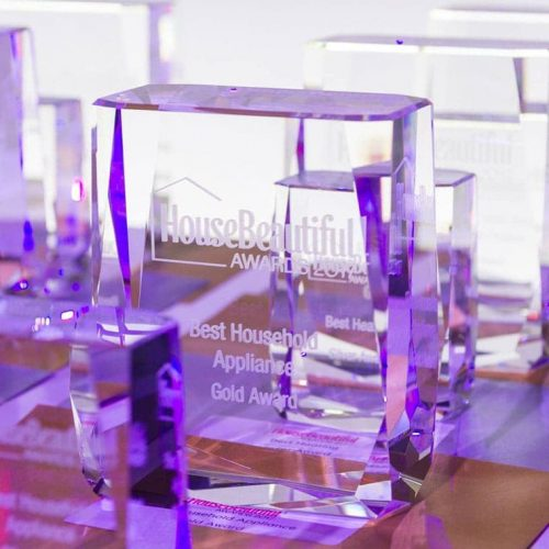 House Beautiful Awards, glass awards, Events World of Awards, crystal awards, corporate awards, awards for events, business awards, personalised awards