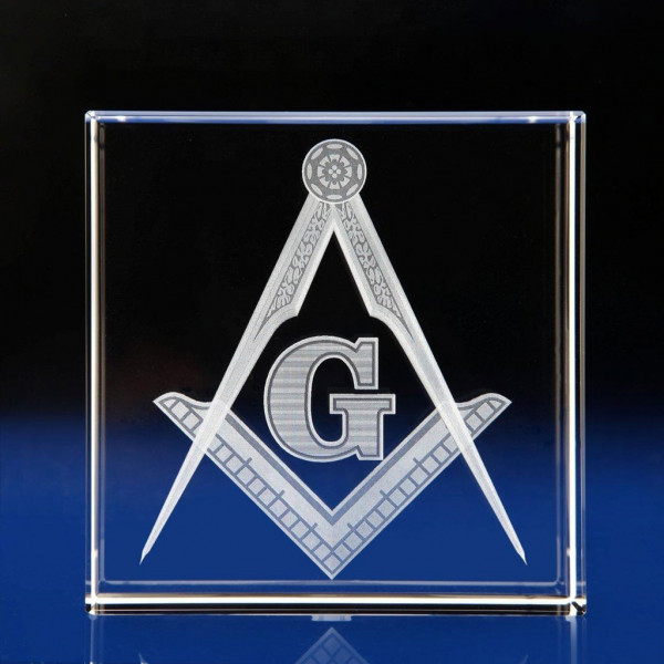 Cube Paperweight gifts, Masonic Gifts, freemason gfits, the masons gifts, masonic ceremony awards