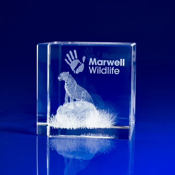 Personalised Glass Paperweight