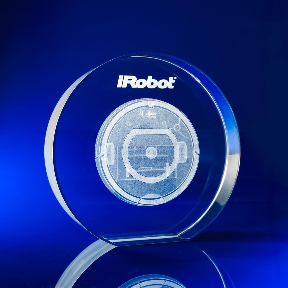 round crystal awards, corporate awards, disc awards, circle awards,
