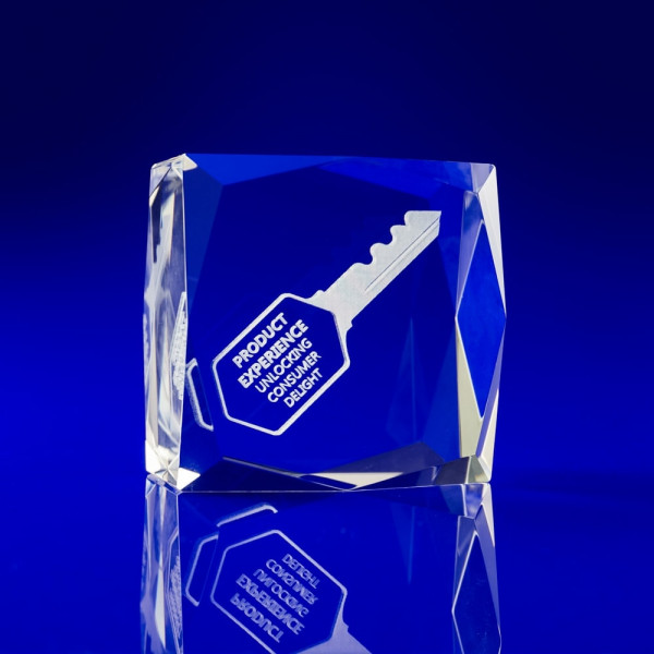 Personalised Crystal Paperweights