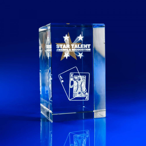 3D Engraved Glass Awards