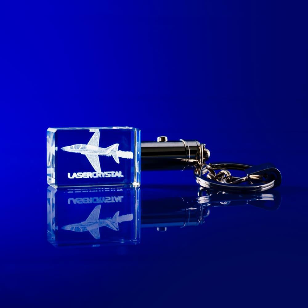 Crystal engraved gift, crytsal keyring, crystal key chain, 3d laser engraved keyring