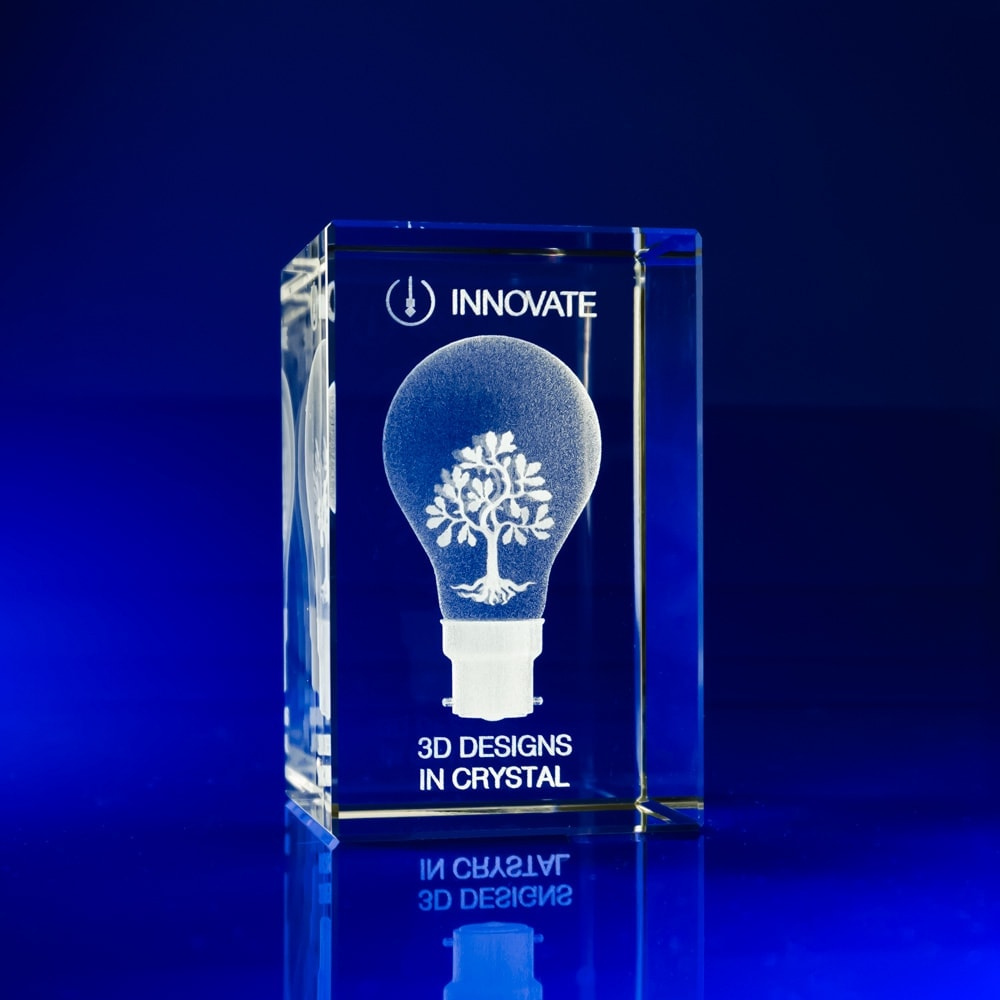 Personalised Crystal Paperweight