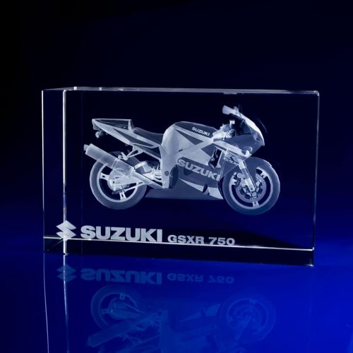 Rectangle Paperweight - motorbike