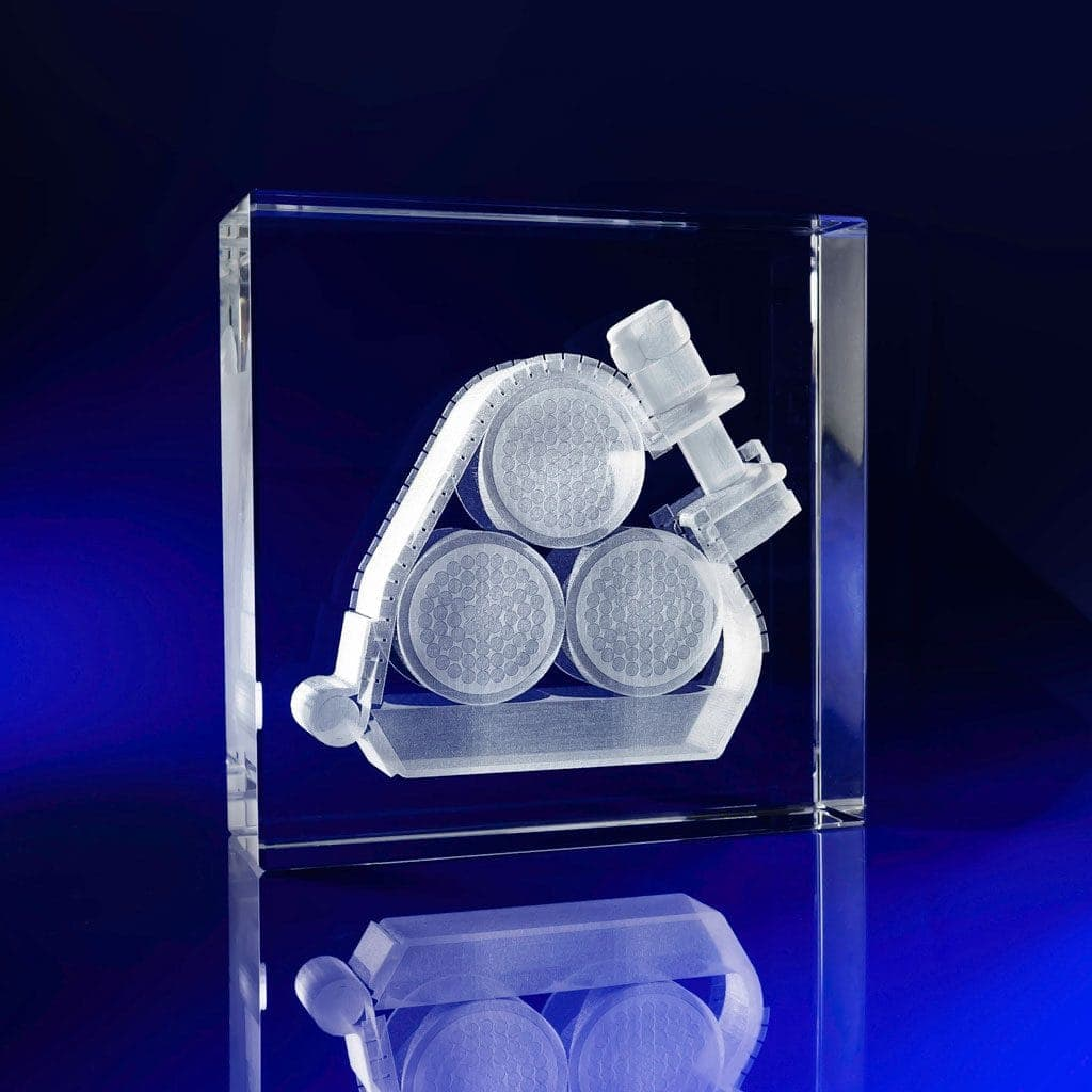 Square Crystal Paperweights