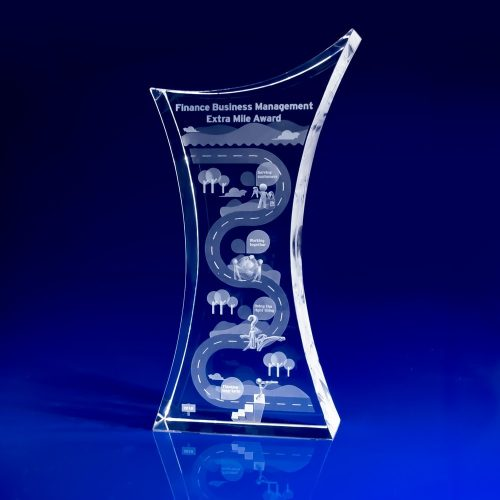 Crystal Trophy Award - Finance