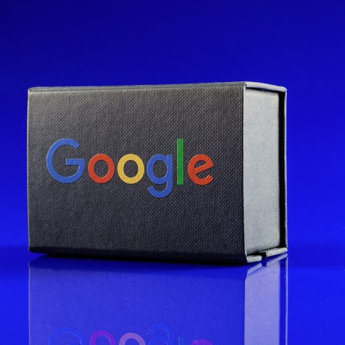 Printed Box 80x50 Google