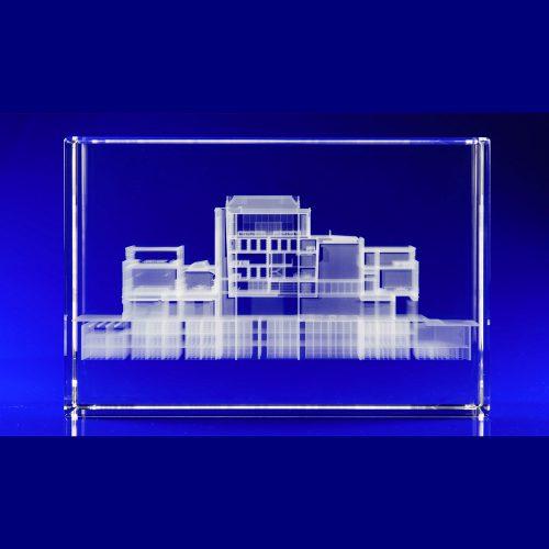 Weston Library Oxford, Crystal Glass Art Installation, Glass awards engraved, laser engraved glass blocks, Glass engravers, Wilkinson Eyre's glass art blocks, London Design Festival