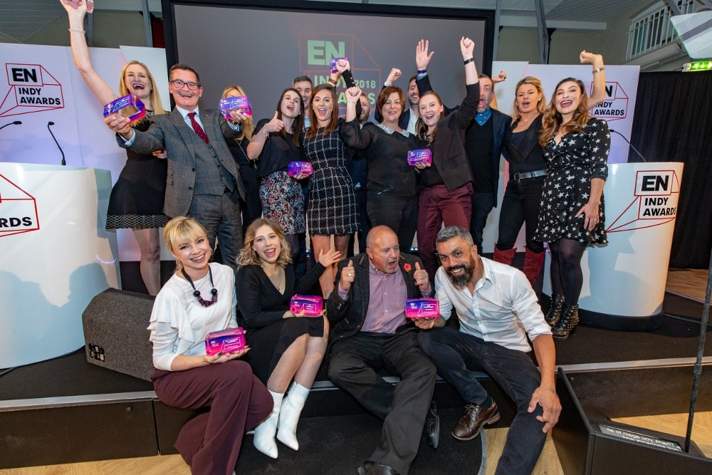 EN Indy Awards 2018, Business Event, Award winners