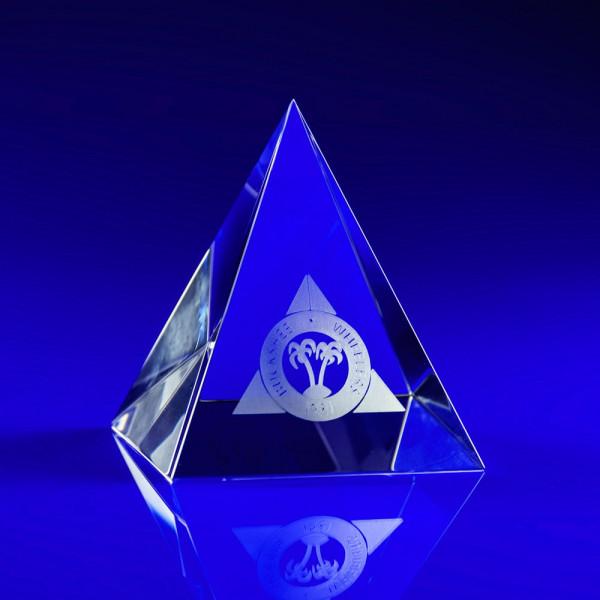 Pyramid 90 Crystal Award