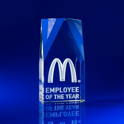3D Laser Engraved Award