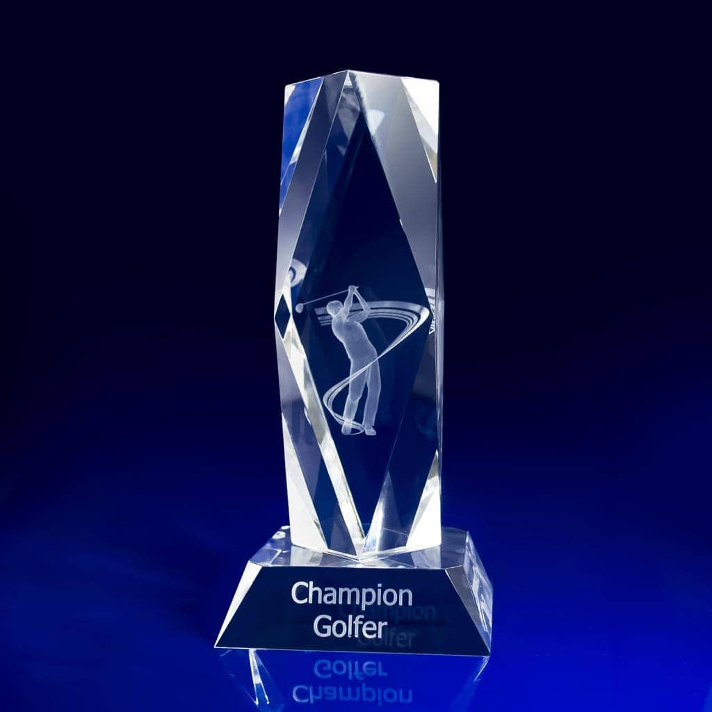 Why Choose Crystal & Glass Awards, Compared to Acrylic Awards?